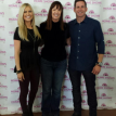 Melissa Black with Tarek and Christina El Moussa of Flip or Flop